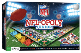 Masterpieces NFL-Opoly Junior Board Game - Forelle American Sports Equipment