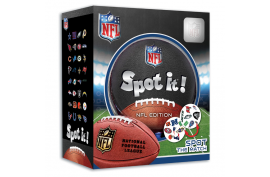 Masterpieces NFL League Spot It! Card Game - Forelle American Sports Equipment