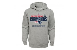Majestic Patriots Super Bowl Hoody - Forelle American Sports Equipment