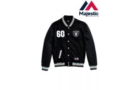 Majestic Lutkin Jacket Raiders - Forelle American Sports Equipment