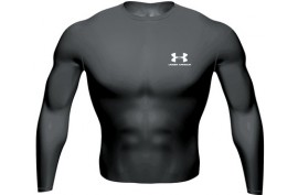 Under Armour Heatgear Longsleeve T (32/63) - Forelle American Sports Equipment
