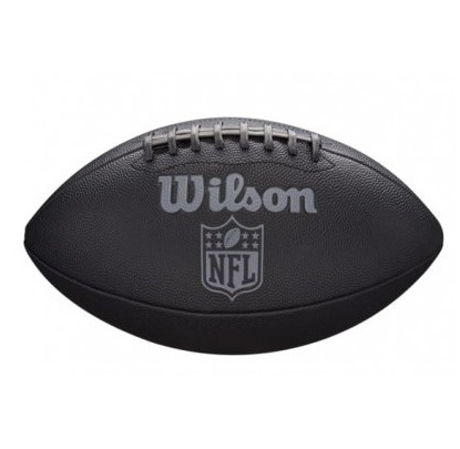Wilson WTF1847XB NFL Jet Black Junior Size - Forelle American Sports Equipment