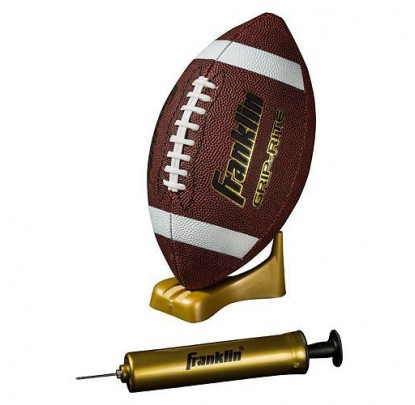 Franklin Grip-Rite Football, Pump and Tee Set - Forelle American Sports Equipment