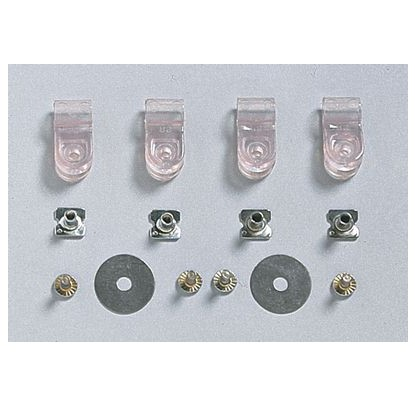 Faceguard Hardware Set Thin - Forelle American Sports Equipment