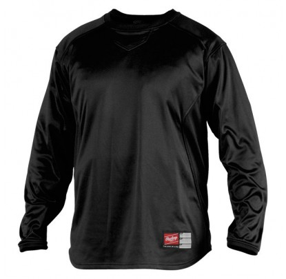 Rawlings YUDFP2 Dugout Pullover Youth - Forelle American Sports Equipment