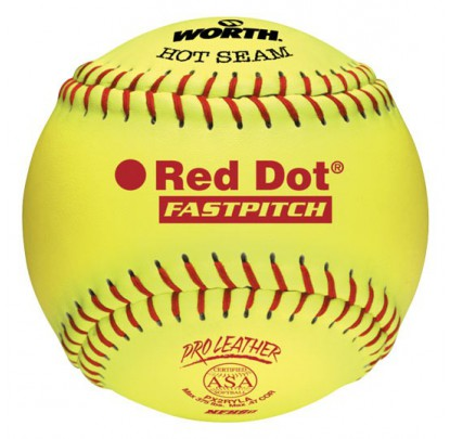 Worth PX2RYLAH Yellow w/red stitch - Forelle American Sports Equipment