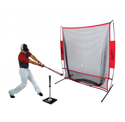 Rawlings PRONET Pro-Style Practice Net (7ft) - Forelle American Sports Equipment