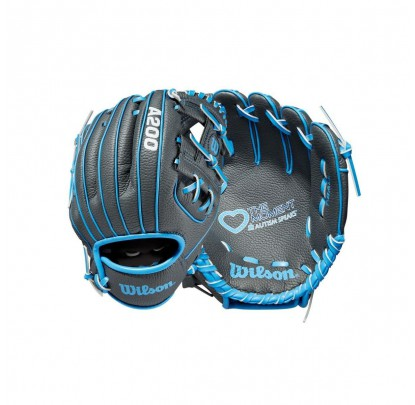 Wilson WTA02RB19AS Autism Speaks A0200 10 Inch LH - Forelle American Sports Equipment