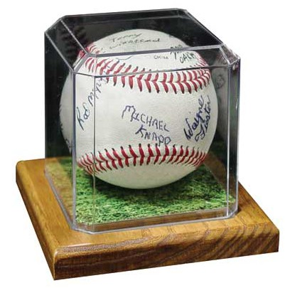 Markwort Premier Edition Baseball Display - Forelle American Sports Equipment