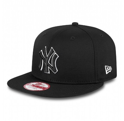 New Era Black White Basic - Forelle American Sports Equipment
