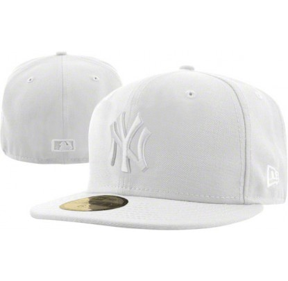 New Era White on White - Forelle American Sports Equipment