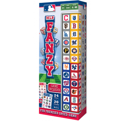 Masterpieces MLB Fanzy Dice Game - Forelle American Sports Equipment