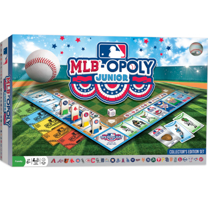 Masterpieces MLB-Opoly Junior Board Game - Forelle American Sports Equipment