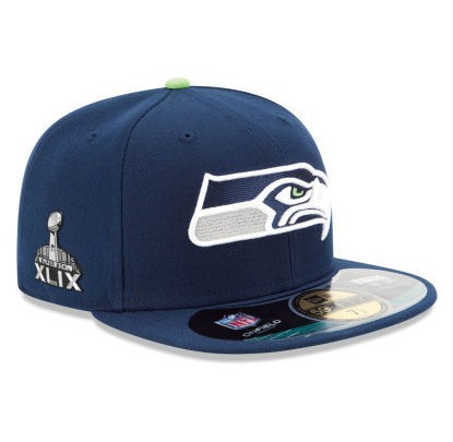 New Era 59Fifty Onfield Superbowl 2015 - Forelle American Sports Equipment