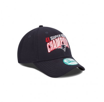 New Era 9Forty Champions Cap NE Patriots - Forelle American Sports Equipment
