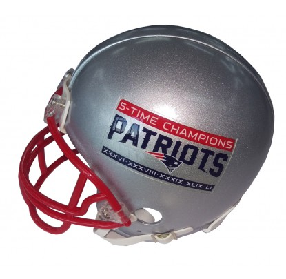 Riddell VSR4 Replica Mini 5 Time Champions Patriots - Forelle American Sports Equipment