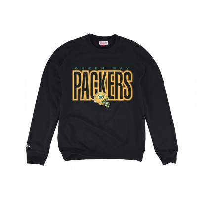 Mitchell & Ness Retro Blur Crew Black - Forelle American Sports Equipment