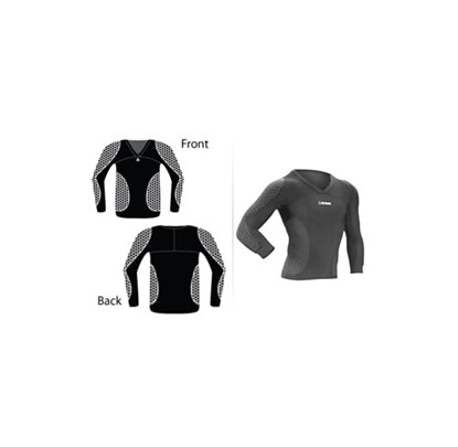 McDavid Long Sleeve Hexpad Shirt (7730/7737T) - Forelle American Sports Equipment