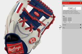 Build your own glove - Forelle American Sports Equipment